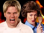 Gordon Ramsay vs Julia Child Thumbnail