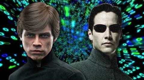 Neo vs Luke Skywalker
