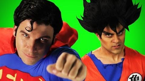 Goku vs Superman. Behind the Scenes of Epic Rap Battles of History.