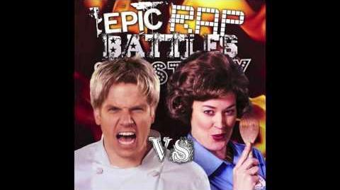 Gordon Ramsay vs Julia Child. Epic Rap Battles of History Season 5 (Audio)