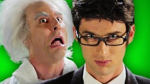 Epic Rap Battles of History - Behind the Scenes - Doc Brown vs Doctor Who