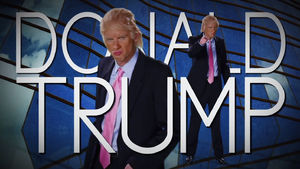 Donald Trump Title Card