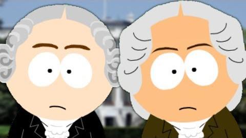 George Washington vs John Adams. Epic Fanmade Rap Battles of History 44