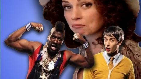 EPIC MAKEUP WITH MR ROGERS AND MR. T!!! Ceciley
