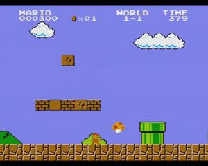 Mushroom Kingdom Super Mario Bros Based on
