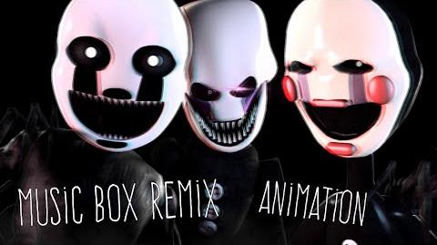 SFM FNAF Music - Music Box Remix Animated --0
