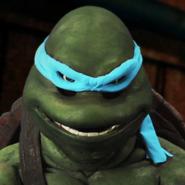 Leonardo (Turtle) In Battle