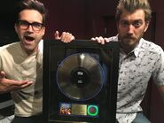 Rhett and Link and the Gold Record