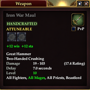 Iron War Maul