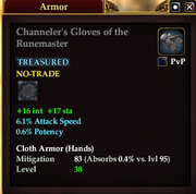Channeler's Gloves of the Runemaster