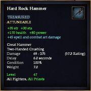 Hard Rock Hammer