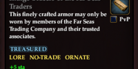 Indigo Bracers of the Far Seas Traders