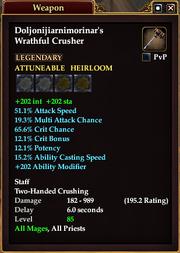 Doljonijiarnimorinar's Wrathful Crusher