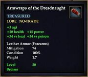 Armwraps of the Dreadnaught
