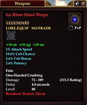 Ice Rime Hand Wraps