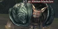 An Ahroun blackclaw