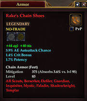 Rake's Chain Shoes