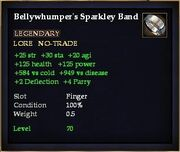 Bellywhumper's Sparkley Band