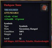 Darkpaw Tome