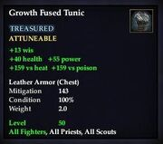 Growth Fused Tunic
