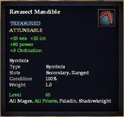 Ravasect Mandible (Dropped)