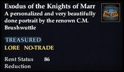 Exodus of the Knights of Marr