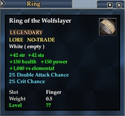 Ring of the Wolfslayer