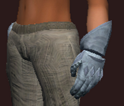 Sentry's Gauntlets of Strength (Equipped)