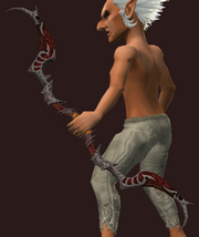 High Keep Skirmisher's Longbow (Equipped)