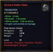 Orclord Battle Helm