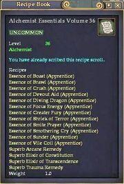 Alchemist Essentials Volume 36
