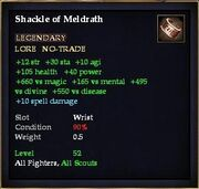 Shackle of Meldrath