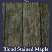 Walls Blood Stained Maple
