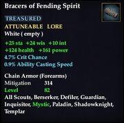 Bracers of Fending Spirit