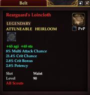 Rearguard's Loincloth