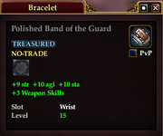 Polished Band of the Guard