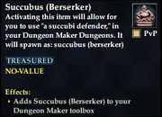 Succubus (Berserker)