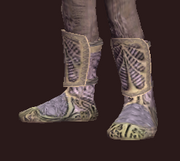 Vagabond's Bronze-Trimmed Chain Shoes (Equipped)