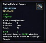 Sullied Marsh Bracers