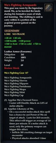 Wu's Fighting Armguards