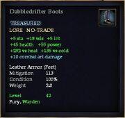 Dabbledrifter Boots