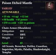 Poison Etched Mantle