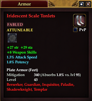 Iridescent Scale Tonlets