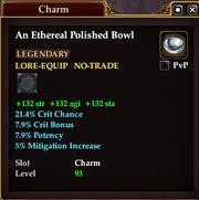 An Ethereal Polished Bowl