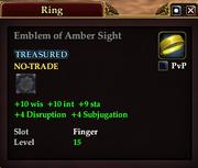 Emblem of Amber Sight