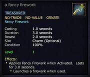 A fancy firework