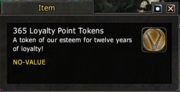 365 Loyalty Point Tokens
