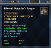 Silvered Defender's Torque