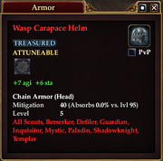 Wasp Carapace Helm