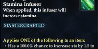 Deepforge Mastercrafted Stamina Infuser